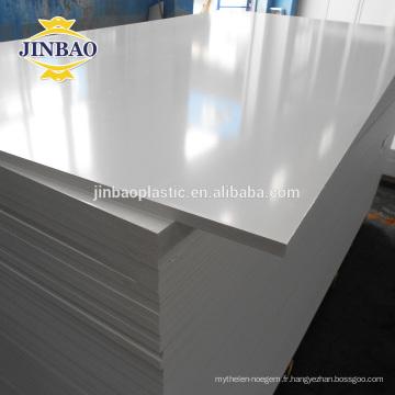 JINBAO 4x8 1.22x2.44x 2.05x3.05 12mm 16mm mousse dure en plastique pvc