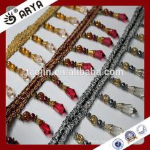 Dekorative Old Style Nizza Perlen Garnituren für Vorhang