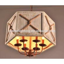 Handgefertigte Decke Lampe Seil Lampenhalter, hängende Seil Restaurant Zimmer Lampe führte Pendelleuchte führte Kronleuchter