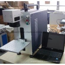 Marcador econômico do laser da fibra / máquina barata barata da marcação do laser