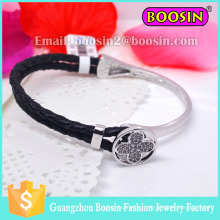 2016 Hot Sale Men's Leather 18k Gold Love Bracelet Bijoux