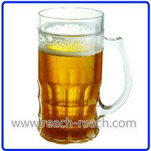 Doble pared plástico cerveza taza del hielo (R-7030)