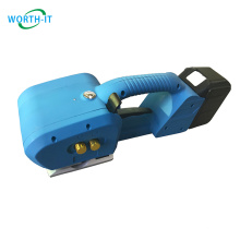 Pet Wire Manual Strapping Machine Carton Bundle Semi Auto Pp Plastic Packaging Material Buckle Free, Frictional Heat Friction
