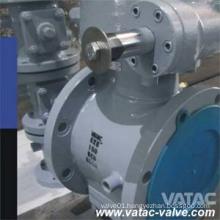 Cast Carbon Steel A216 Wcb Full Jackted Sleeved Plug Valve