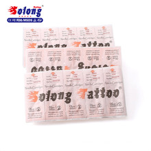 Solong Tattoo Needle Wholesale Tattoo Supplies for Body EN07- M2 needle cartridge