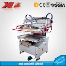 Máquina de impressão de tela de seda plana vácuo vertical à venda