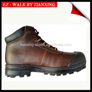 PU-Sicherheitsschuhe aus beschichtetem Leder mit Stahlkappe DESMA-Stiefel