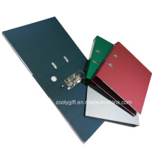 Quality Solid Color Marble Paper Lever Arch File