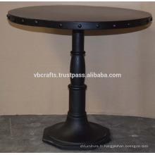 Table de base en fonte d'acier rente intégrée