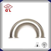 3 pulgadas de acero inoxidable accesorios sanitarios SUS304 316L Weld Fittings