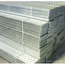 Tablero de andamio de aluminio para la construcción de edificios