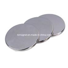Дисковые магниты с никелевым покрытием