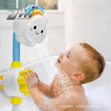 Dowellin Cartoon cloud rainbow Shower Bath Toys