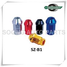 Popular Racing Aluminum Wheel Lug Nuts Colored Wheel Lug Nuts in Sets