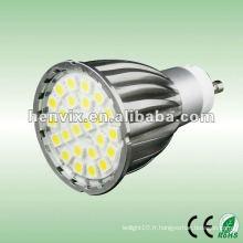 Vendeur chaud SMD 5050 LED Spotlight gu10