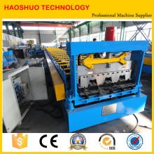 Профилегибочная машина для производства металлических настилов высокого качества