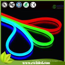 Rote LED-Leuchtreklame für bunte PVC-Abdeckung