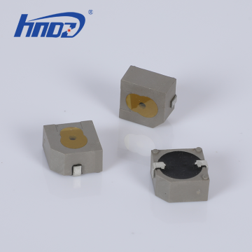 12,8 x 12,8 x 6,5 mm SMD-Magnet-Summer 5 V, 2400 Hz