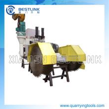 Máquina de corte de arenito com lâminas verticais