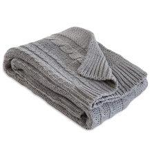 custom logo buttery soft swaddle milestone minky baby knit knitted knitting  baby blanket  blankets sleeper