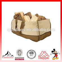 Bolso de registro resistente de alta calidad del portador de caddie del carro de madera de la lona de la alta calidad