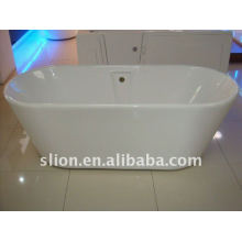1700mm freestanding bathtub big size with big capacity