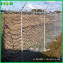 airport welded wire mesh pvc coated garden fence