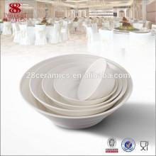 Bone china Bols en céramique ronde Chaozhou fengxi porcelaine