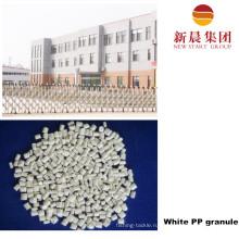 Белый цвет восстановленный пластиковые ПП гранула