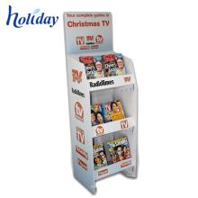 Support d'affichage adapté aux besoins du client de brochure de magasin de haute qualité de vente chaude, support coloré d'affichage de bande dessinée de détail de supermarché