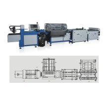 Máquina para fabricar tapas duras semiautomática para estuches de libros PKB-800