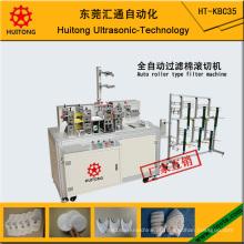 Auto máquina de mascaramento de filtro de tipo de rolo