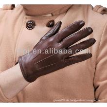 Männer neu Mode Leder Hirsch Haut Handschuhe