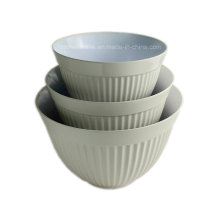 3PCS Melamine Mixing Salad Bowl (BW4609)