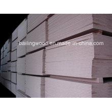 Aglomerado de madeira aglomerado liso / painel de madeira aglomerado laminado