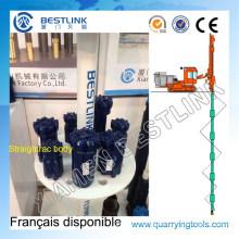 Straightrac Retrac Body Thread Button Bit for Bench Drilling