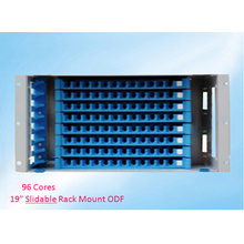 19 Inch 96 Cores Slidable Rack Mount ODF