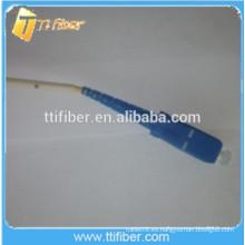 SC Cable de fibra óptica Pigtail 2.0mm / Fibra