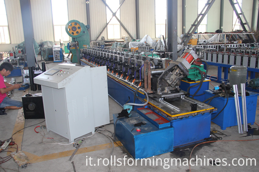 channel roll forming machine