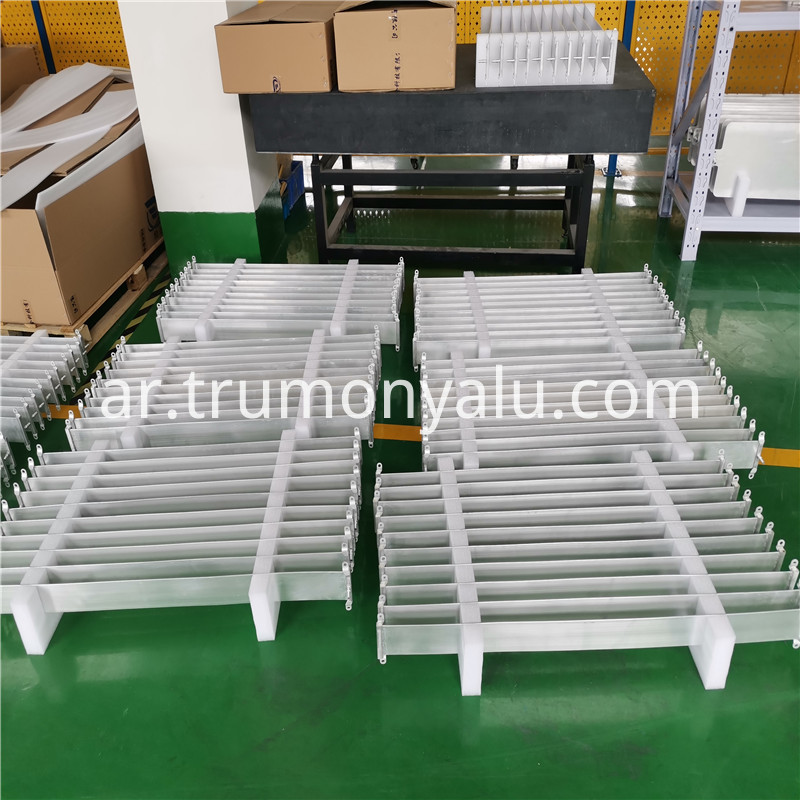 Aluminum Brazed Water Cooling Plate04