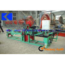 barbed wire machine/ electric galvanized barbed wire making machine/ production line