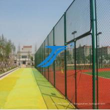 Cerca de tênis / cerca do estádio, / malha de diamante / cerca de basquete