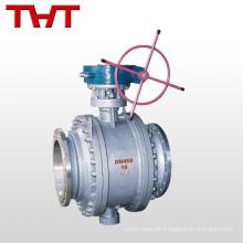 WCB-Schneckengetriebe hat große Kugelventile der Flüssigkeitssteuerung befestigt