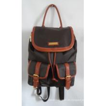 Mode Nylon Duffel Schul Reise Rucksack mit Ihrer eigenen Marke (A-011)