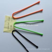 Laços de cabo com laço da engrenagem do silicone