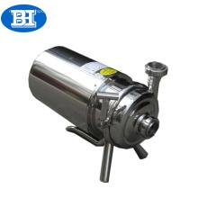 Bombas centrífugas de aço inoxidável higiênicas de padrão industrial pequenas do produto comestível