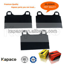 Kapaco Premium Qualität Gummierte Bremsbelagscheibe D874 für Mercedes-Benz Bremsbelag