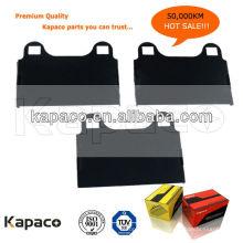 Kapaco Premium Quality Прорезиненная тормозная колодка D874 для тормозной колодки Mercedes-Benz