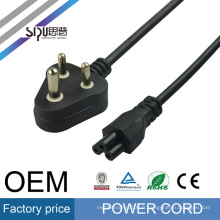 SIPU Factory price AC power cable for PC / laptop 220v computer power cord India style power cord