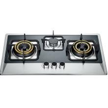 Cuisinière à gaz trois brûleurs (SZ-LX-218)